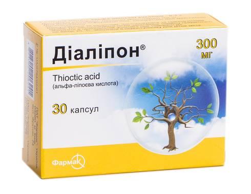 Діаліпон капсули 300 мг 30 шт