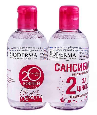 Bioderma Sensibio H2O Лосьйон міцелярний Дуо 2х250 мл 1 набір