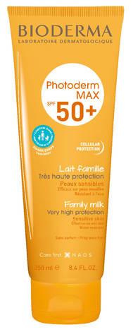Bioderma Photoderm Max Молочко сонцезахисне сімейне для чутливої шкіри SPF-50+ 250 мл 1 туба