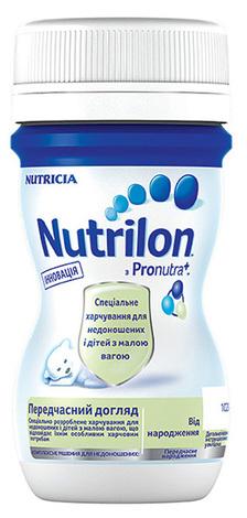 Nutrilon Передчасний догляд Суміш рідка від народження 70 мл 1 флакон