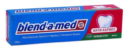 Blend-a-med Anti-Caries Зубна паста кальци-стат м'ята 100 мл 1 туба