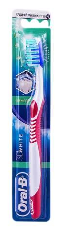 Oral-B 3D White Зубна щітка середньої жорсткості 1 шт