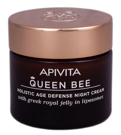 Apivita Queen Bee Крем нічний для комплексного захисту від старіння 50 мл 1 банка