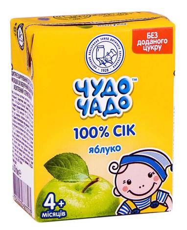 Чудо-Чадо Сік яблуко з 4 місяців 200 мл 1 пакет