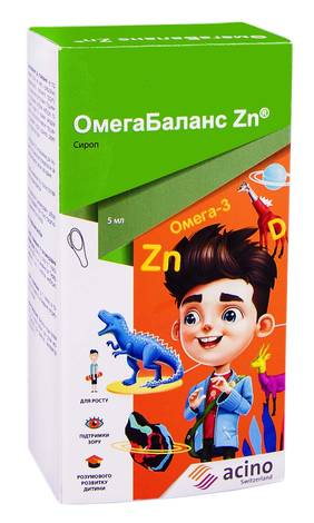 ОмегаБаланс Zn сироп 20 ложок