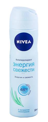 Nivea Дезодорант-антиперспірант Енергія свіжості 150 мл 1 флакон