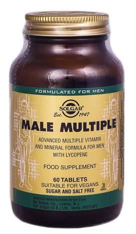 Solgar Комплекс вітамінів для чоловіків таблетки 60 шт