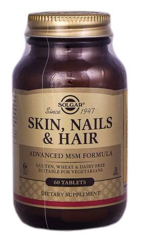 Solgar Таблетки для шкіри, нігтів та волосся таблетки 60 шт