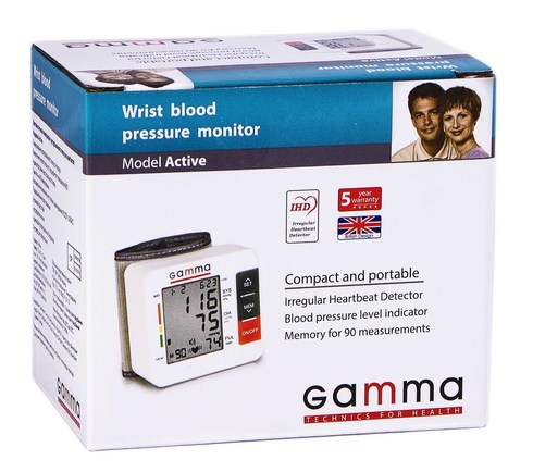 Gamma Active Тонометр автоматичний на зап'ястя 1 шт
