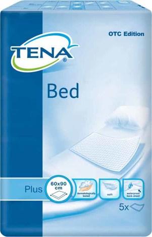 Tena Bed Plus Пелюшки 60х90 см 5 шт