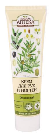 Зелена Аптека Крем для рук і нігтів оливковий 100 мл 1 туба