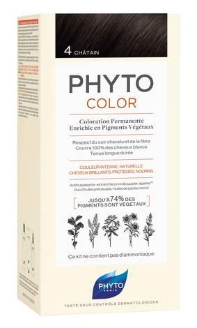 Phyto Phytocolor Крем-фарба 4 шатен 100 мл 1 комплект