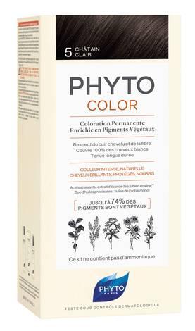 Phyto Phytocolor Крем-фарба 5 каштан 100 мл 1 комплект