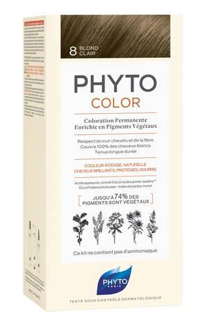 Phyto Phytocolor Крем-фарба 8 світло-русий 100 мл 1 комплект