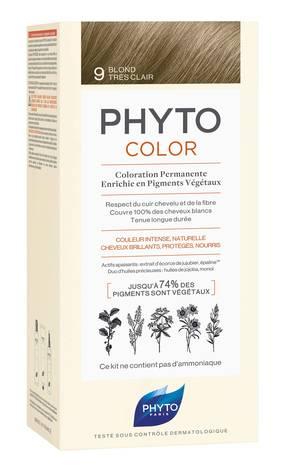 Phyto Phytocolor Крем-фарба 9 блондин 100 мл 1 комплект