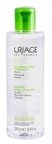 Uriage Міцелярна термальна вода для комбінованої та жирної шкіри 250 мл 1 флакон