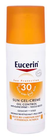Eucerin Sun Protection Гель-крем сонцезахисний для жирної та схильної до акне шкіри обличчя SP-30 50 мл 1 флакон