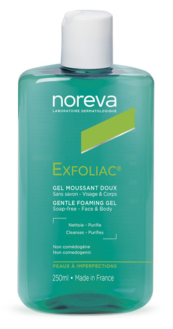 Noreva Exfoliac Гель очищуючий пінистий для обличчя 250 мл 1 флакон
