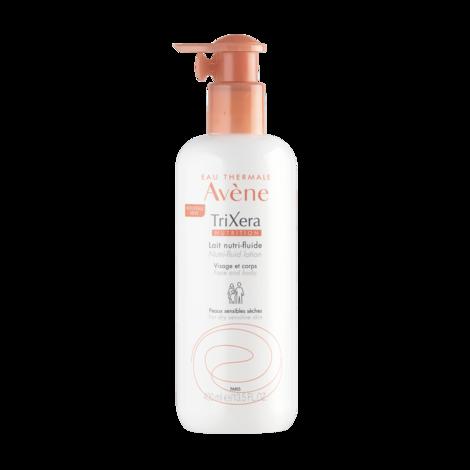 Avene TriXera Nutrition Молочко нутрі-флюїд для обличчя та тіла для сухої та чутливої шкіри 400 мл 1 флакон