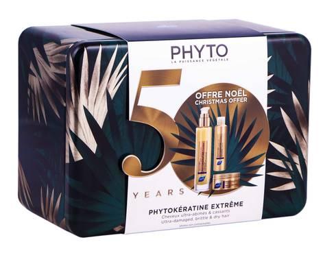 Phyto Phytokeratine Extreme крем 100 мл + маска 50 мл + шампунь 50 мл 1 набір
