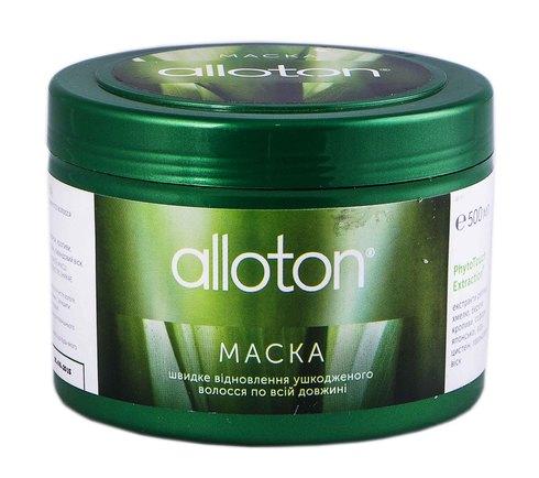 Alloton Маска швидке відновлення пошкодженого волосся по всій довжині 500 мл 1 банка