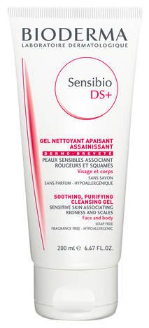 Bioderma Sensibio DS+ Гель очищуючий для обличчя та тіла для чутливої шкіри 200 мл 1 туба