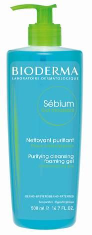 Bioderma Sebium Гель очищаючий для комбінованої та жирної шкіри 500 мл 1 флакон