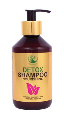 Arbor Vitae Detox Шампунь для волосся з нафтою косметичною збагачений комплексом вітамінів і сечовиною 300 мл 1 флакон