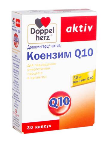 Doppel herz aktiv Коензим Q10 капсули 30 шт