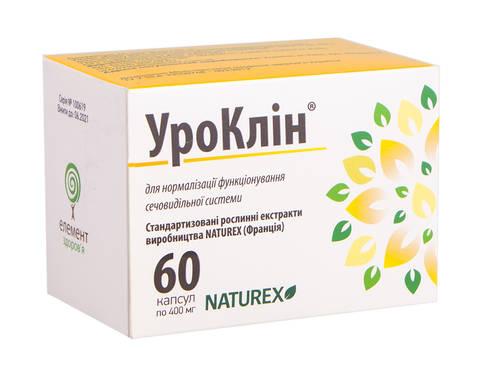 УроКлін капсули 400 мг 60 шт