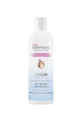 Dermedic Baby Linum Emolient Дитячий крем-гель для вмивання 62246 200 мл 1 флакон