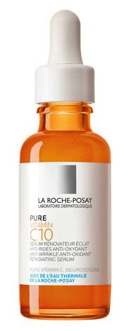 La Roche-Posay Pure Vitamine C10 Сироватка-антиоксидант проти зморшок для оновленя шкіри обличчя 30 мл 1 флакон