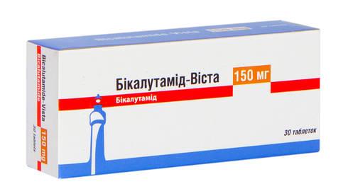 Бікалутамід таблетки 150 мг 30 шт
