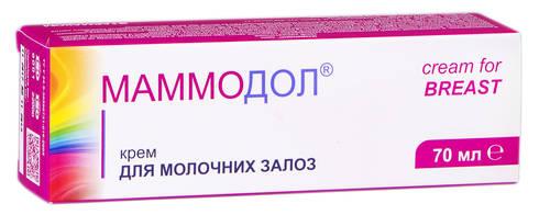 Маммодол крем для молочних залоз 70 мл 1 туба