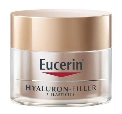 Eucerin Hyaluron-Filler + Elasticity Крем нічний антивіковий для шкіри обличчя 50 мл 1 банка