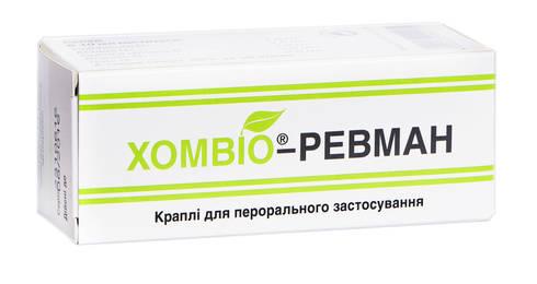 Хомвіо-Ревман краплі оральні 50 мл 1 флакон