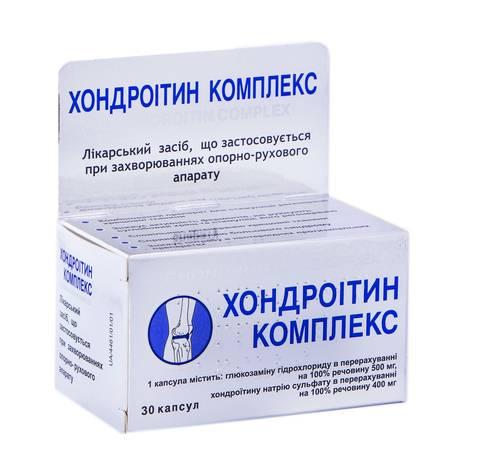 Хондроітин Комплекс капсули 30 шт