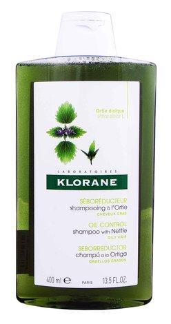 Klorane Шампунь себорегулюючий з екстрактом кропиви для жирного волосся 400 мл 1 флакон