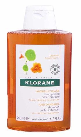 Klorane Шампунь проти лупи з екстрактом настурції для всіх типів лупи 200 мл 1 флакон