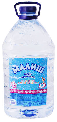 Малиш Вода дитяча негазована 5 л 1 пляшка