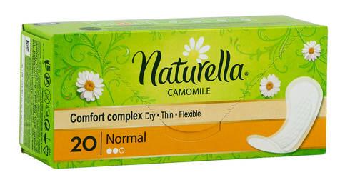 Naturella Normal Camomile Прокладки щоденні жіночі з ароматом ромашки 20 шт