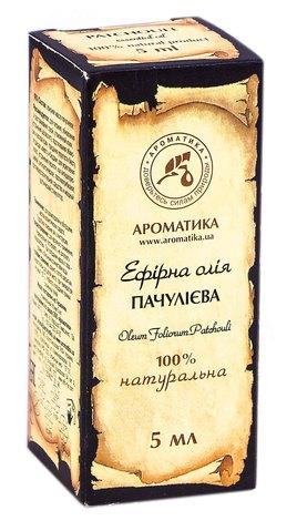 Ароматика Олія ефірна пачулієва 5 мл 1 флакон
