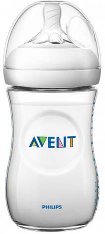 Avent Philips Natural Пляшечка для годування з 1 місяця SCF033/17 260 мл 1 шт
