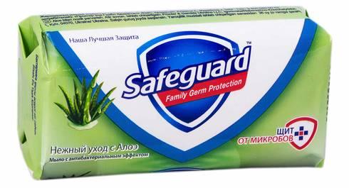 Safeguard Мило з антибактеріальним ефектом Алое 90 г 1 шт