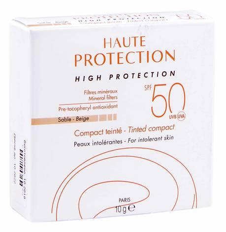 Avene Компакт сонцезахисний SPF-50+ бежевий 10 г 1 шт