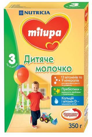 Milupa 3 Дитяче молочко від 12 місяців 350 г 1 коробка