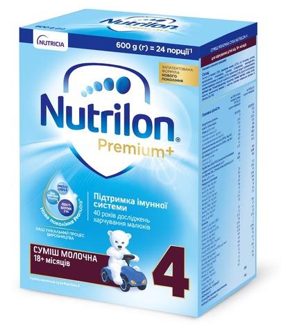 Nutrilon 4 Суміш молочна від 18 місяців 600 г 1 коробка