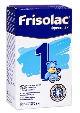 Friso 1 Фрісолак Суміш молочна з 0 до 6 місяців 350 г 1 коробка