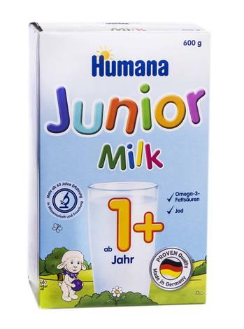 Humana 4  Юніор Сухе Молоко від 12 місяців 600 г 1 коробка