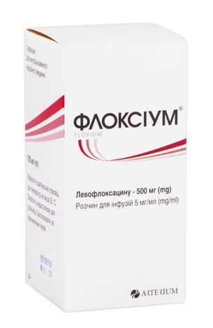 Флоксіум розчин для інфузій 5 мг/мл 100 мл 1 флакон